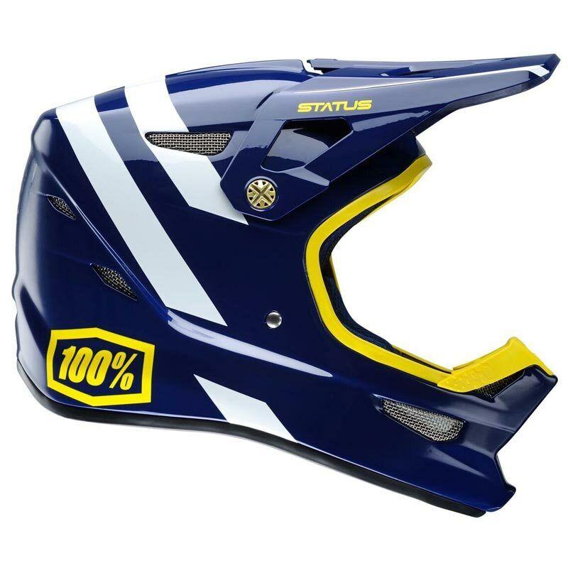 100% STATUS DH BMX Helmet - Midnight Meteor - XXL