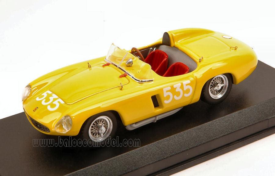 Ferrari 500 Mondial Retired Mille Miglia 1956 G. Casaredto 1 43 Model 0332