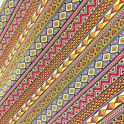 Printed CANVAS 100/% Pure Cotton 150cm wide sold by the Metre Half or FQ CP019