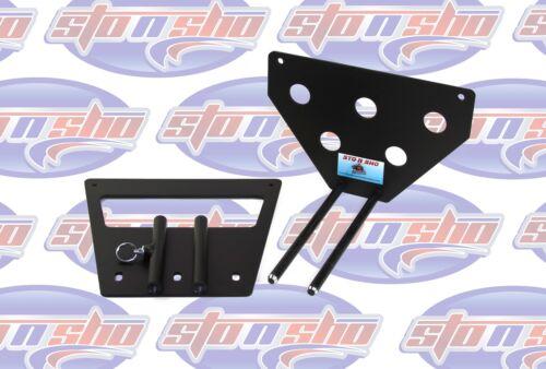 Sto N Sho License Plate Bracket for 2012 Boss 302 /& 2011-12 California Mustang
