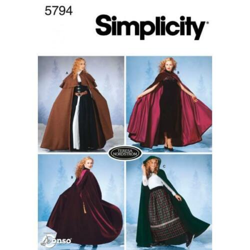 Simplicity Misses Costumes Simplicity Fabric Sewing Patterns 5794