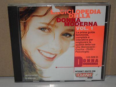 CD-ROM Enciclopedia della Donna Moderna Volume 1 Benessere ...