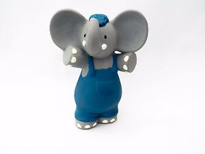 New-Bonikka-Alvin-the-Elephant-All-Rubber-Squeaker-Baby-Teether-Teething-Toy-0m