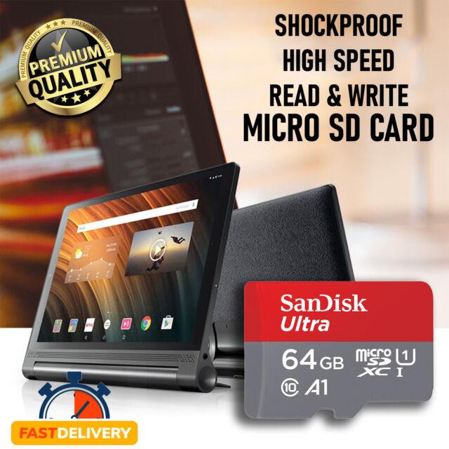 Original SanDisk Micro SD 64GB Class10 SDHC SDXC Memory Card & free Adapter