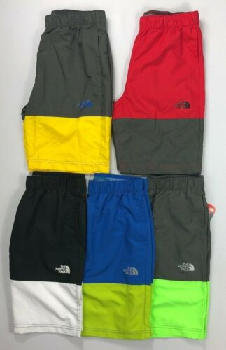Boy/'s Youth The North Face UPF 50 Phantom Print Flash Dry Water Shorts Swim