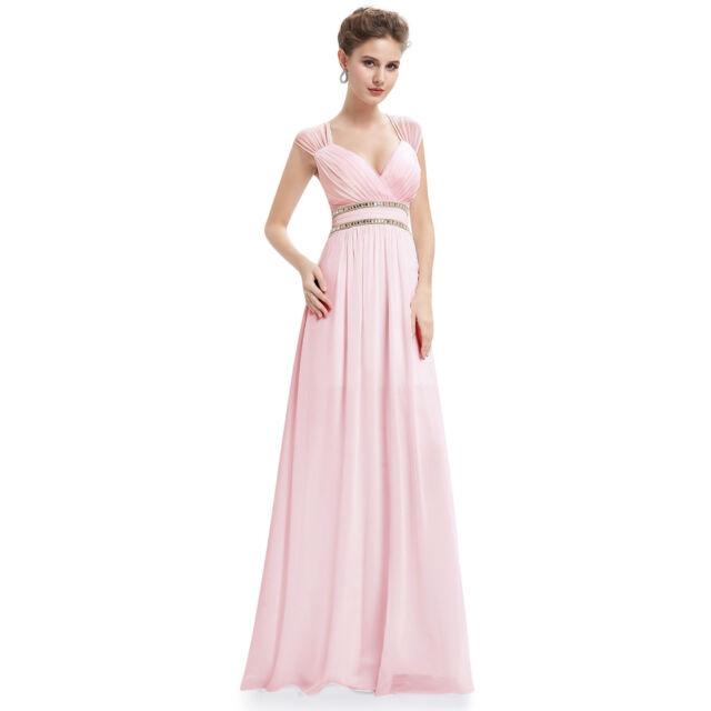 be51d78a359f Ever-Pretty Women Beaded V-neck Bridesmaid Wedding Dress Formal Ball ...