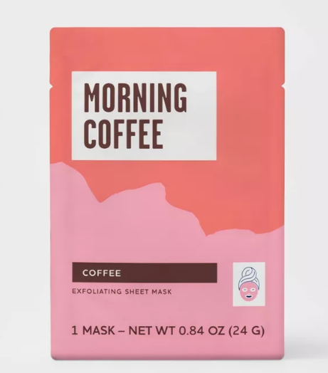 Lot Of 10 Target Morning Coffee Infused Exfoliating Sheet Face Mask Serum 84 Oz Ebay