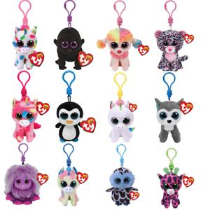 "Ty Beanie Clip 3--5"" Babie Baby Keyclip Plush for Backpack! Bestseller! Trending"