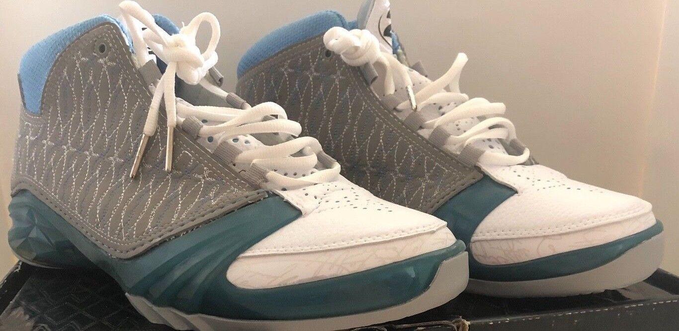 Mens Nike Air Jordan XXIII XX3 23 Titanium 2008 318474-151 size 9 1/2 READ BELOW