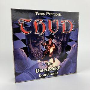 Vintage-THUD-Board-Game-Terry-Pratchett-039-s-Discworld-Battle-100-Complete-VGC