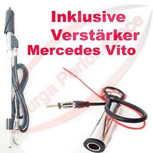 Mercedes-Benz-Vito-Antenne-Manuell-Stabantenne-Edelstahl-Autoantenne-Neu