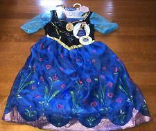 Anna Frozen Princess Disney Musical Light Up Dress Fairy Tale Girls Costume 4-6