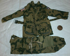 21st century US para 82nd camo jacket & trousers 1/6th scale toy accessory