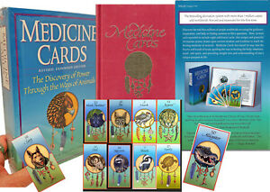 MEDICINE-CARDS-BOOK-SET-DISCOVER-POWER-THROUGH-THE-WAYS-OF-ANIMALS-Revised-Expan
