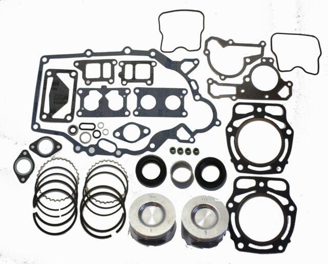 Kawasaki Mule Kaf620 Engine Rebuild Kit W 2 Oversize Pistons And