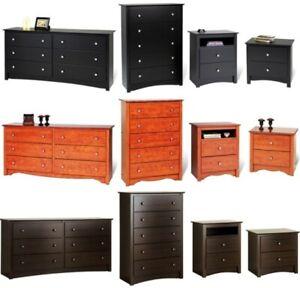 Bedroom Furniture Sets Mix & Match Dresser Drawers Nightstands