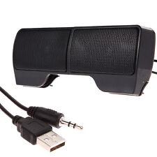 Mini Portable USB Stereo Speaker Soundbar for Notebook Laptop Mp3 Phone PC R1BO