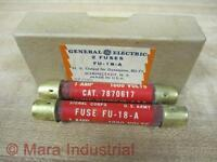 General Electric Fu-18-a Fuse Cat. 7870617 (pack Of 2)