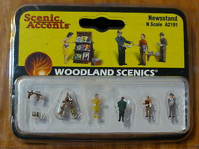 A2191 Woodland Scenics N Gauge Newsstand