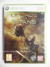 jeu LE CHOC DES TITANS sur xbox 360 en francais game spiel juego complet TBE