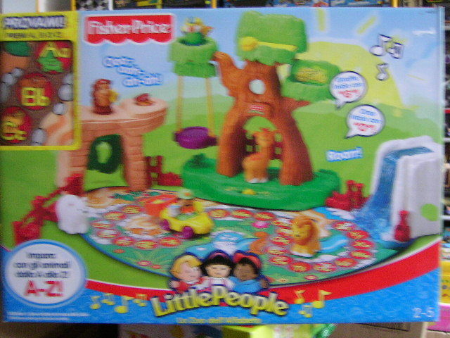 LITTLE PEOPLE LO ZOO DELL'ALFABETO FISHER-PRICE