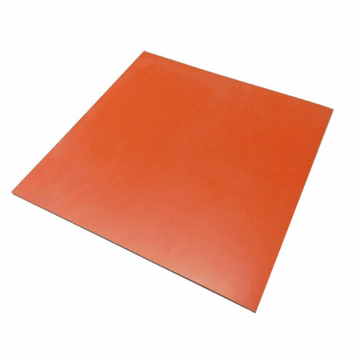 "New Heat Press Silicone Sponge Rubber Sheet Plate Pad 50x50cm 20x20/"" High Temp"