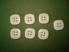 crème 16 mm 4 trous CT1C15d 7 Boutons plastiques