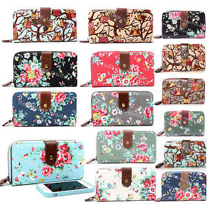 Designer-Oilcloth-Canvas-Large-Small-Purse-and-Wallets-Girls-Coin-Purse