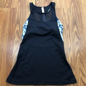 5bd210f80adce LuLuLemon Women s Mesh Racer Shelf Bra Athletic Yoga Tank Top Blue ...