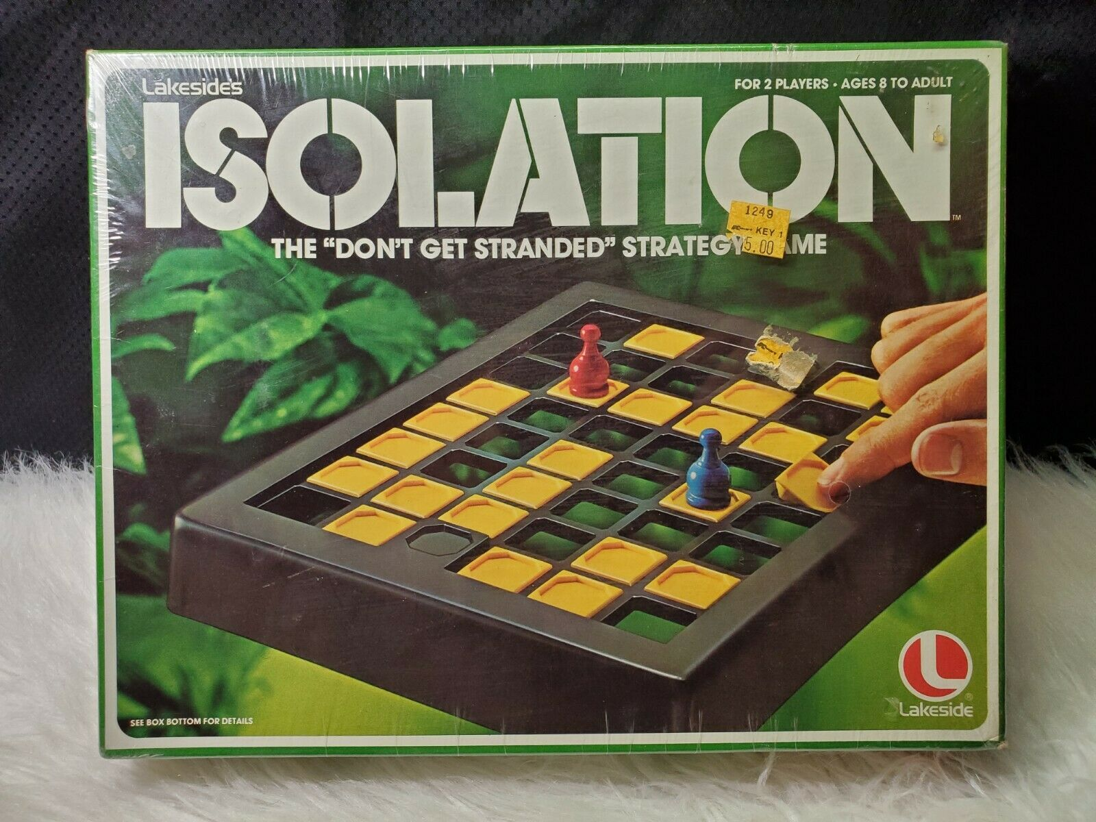 1978 Lakeside's Isolation Strategy Board Game 8386 (Sealed)