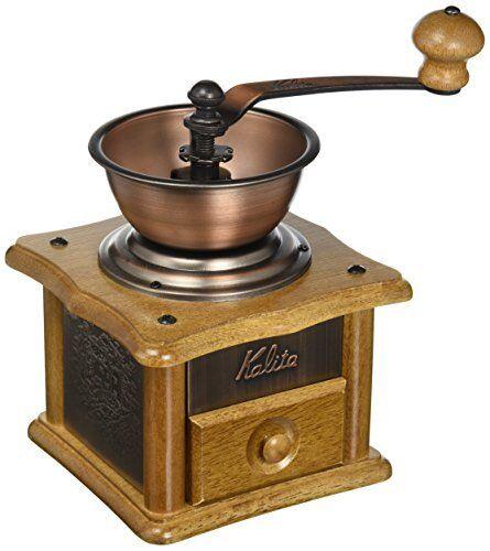 Kalita Moulin à café à la main sol cuivre plate Mill AC-1   42067 nouveau du Japon