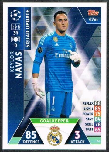 CHAMPIONS LEAGUE MATCH ATTAX EXTRA 2018-2019 ☆ ROAD TO MADRID ☆ Cards #1 to #61
