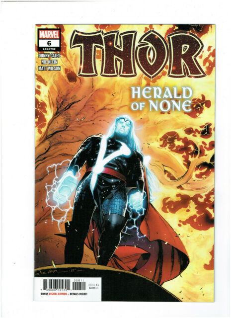 Thor Vol. 6 #6 A 1st Print - Black Winter - Death of Galactus NM-