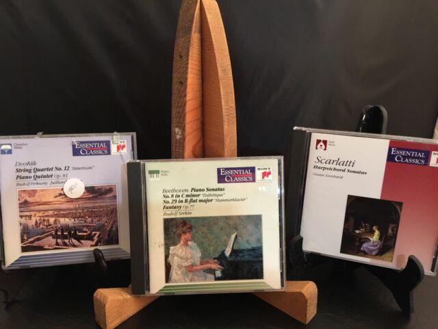 3 Sony Essential Classics Instrumental Works CDs Beethoven Scarlatti Dvorak