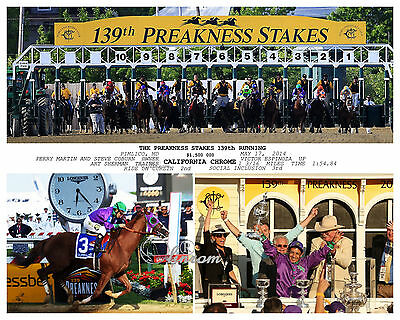 "California Chrome 2014 Kentucky Derby Remote Photo 8/"" x 10-24/"" x 30/"""