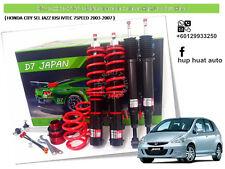 HONDA CITY SEL JAZZ 2003-2007 D7 JAPAN Adjustable Coilover High Low Soft Hard