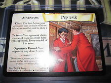 HARRY POTTER TRADING CARD TCG QUIDDITCH CUP PEP TALK 43/80 UNCO EN MINT
