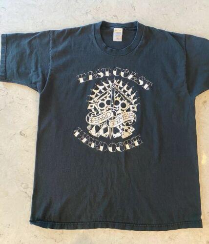 East Cost Hardcore - RARE - T Shirt - NYHC - Hardc