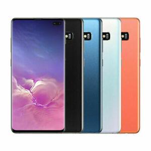 New Samsung Galaxy S10 Plus Sm G975u 128gb Gsm Unlocked Smartphone Ebay