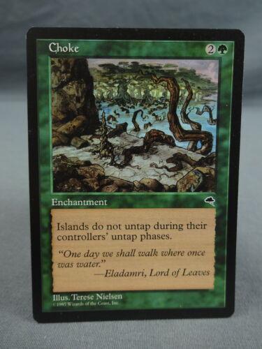 MTG Magic the Gathering Card X1 Tempest EX//NM Choke