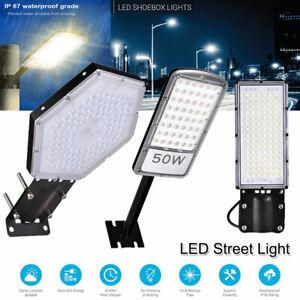 30W-50W-80W-100W-300W-LED-Road-Street-Flood-Light-Spot-Lamp-Parking-Outdoor-Yard