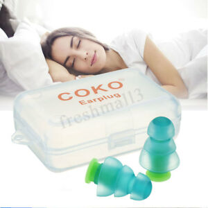 Noise Cancelling Ear Plugs +Box for Sleeping Concert Musician Hearing