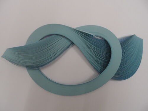 100 strips Pale Blue Quilling Paper 3mm