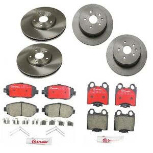 Front and    Rear       Brake    Rotors   Pads Kit Brembo for Lexus