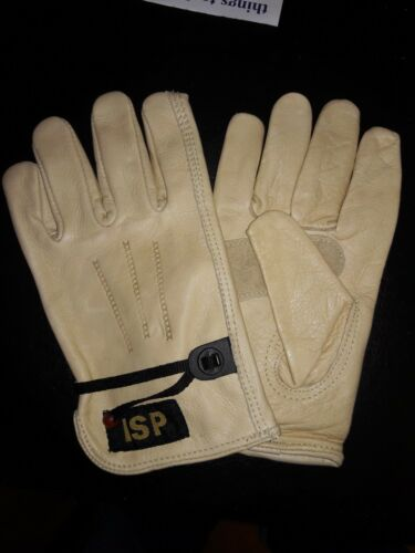 *SEPT MONTH END BLOW OUT SALE* Cowhide Driver Gloves w//Ball String 1 Dozen SMALL
