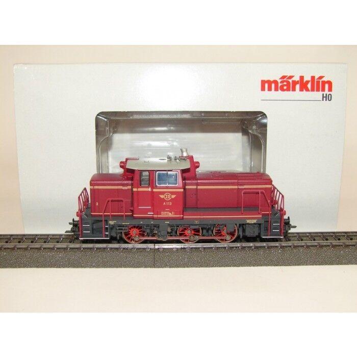 Märklin 37600.002 diesel-avanza br V 60 de la OSE télex, Sound mercancía nueva