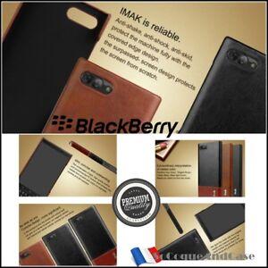 Etui-Coque-IMAK-Antichocs-Cuir-PU-Leather-ShockproofCase-Cover-BlackBerry-Key2