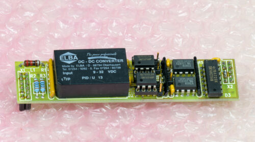 BOEKELS DP807 RS422 RS485 OPTICALLY ISOLATED SERIAL INTERFACE DISCOVERY METAL
