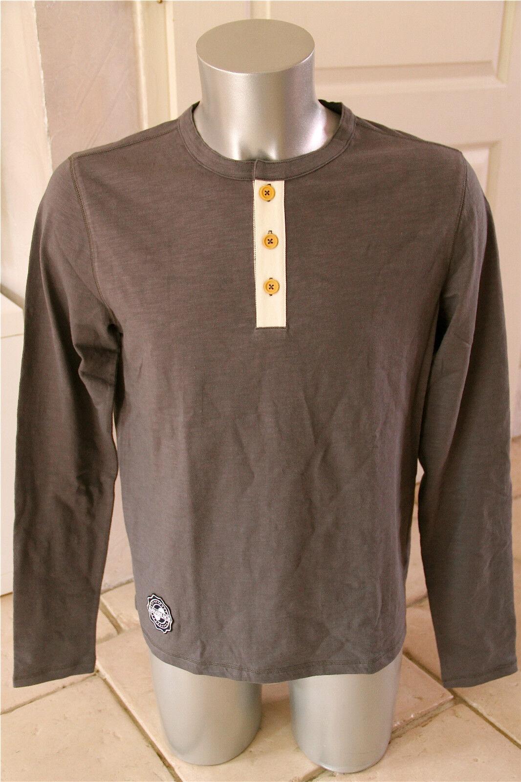 Sweat sweater hemp KANABEACH BIOLOGIK ping SIZE M NEW LABEL value