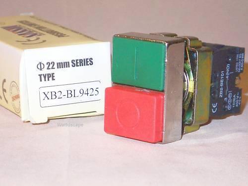 SASSIN XB2BW8365 2 head pushbutton operator NIB